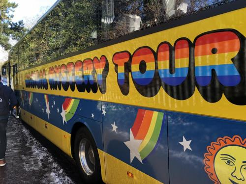 Roll up, Roll up! For the Magical Mystery Tour.