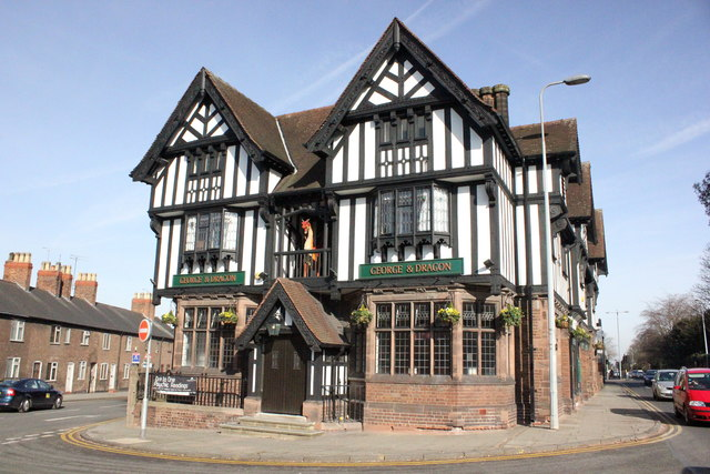 George and Dragon Pub, Chester