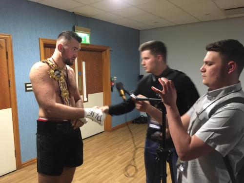 Interviewing Hughie Fury