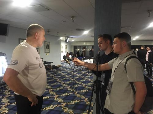 Interviewing Peter Fury