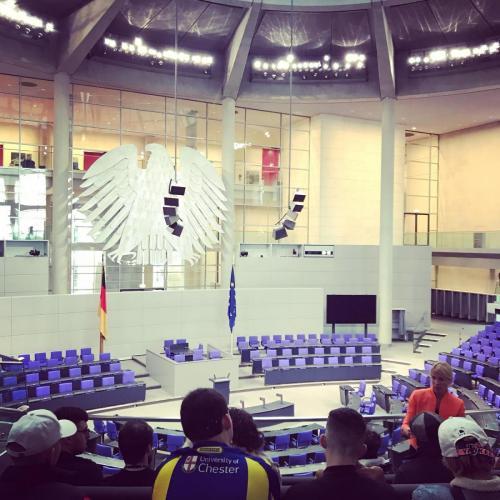 Bundestag interior